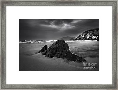 Coumeenoole Beach Framed Print by Nichola Denny