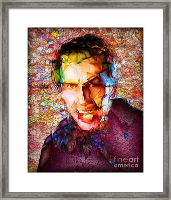 Framed Print featuring the photograph Count Dracula 20170413 by Wingsdomain Art and Photography
