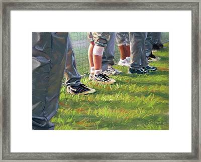 Counttime At The Field Framed Print