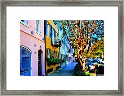 Count Your Rainbows Framed Print