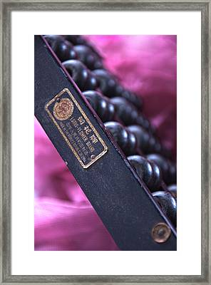 Countdown In Pink Framed Print