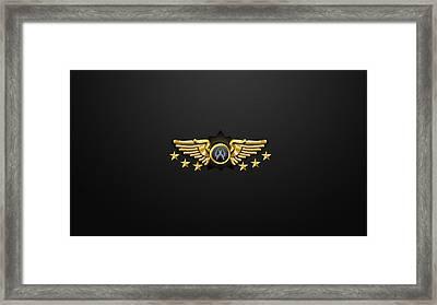 Counter Strike Cs Rank Supreme Master First Class               Framed Print