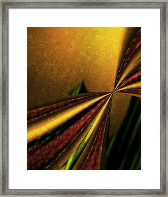 Counterpoint 1 Framed Print by Vic Eberly