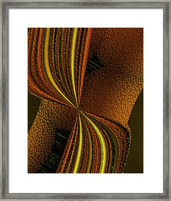 Counterpoint 2 Framed Print by Vic Eberly
