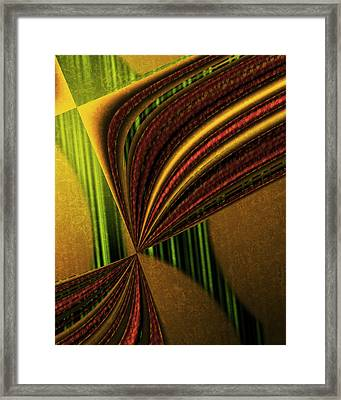 Counterpoint 3 Framed Print by Vic Eberly