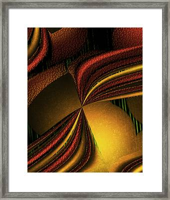Counterpoint 4 Framed Print by Vic Eberly
