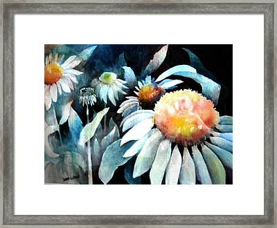 Counting Coneflowers Framed Print by Debra LePage