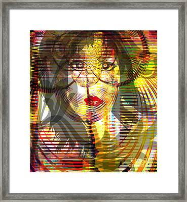 Counting Her Blessings Framed Print by Fania Simon