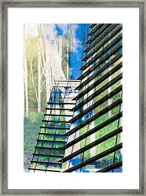 Country And City Framed Print