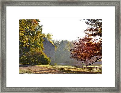 Country Autumn Framed Print by Bill Cannon