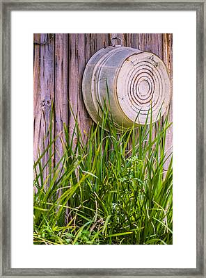 Country Bath Tub Framed Print