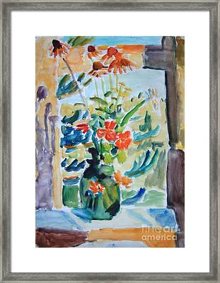 Country Bouquet Framed Print by Andrey Semionov