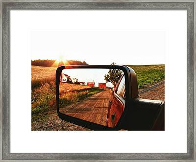 Country Boys Framed Print