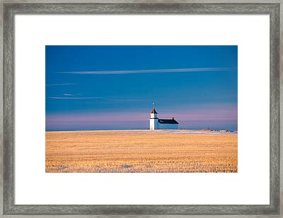Country Chapel Framed Print by Todd Klassy