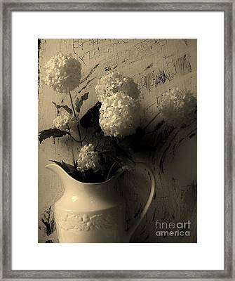 Country Chic Framed Print by Marsha Heiken