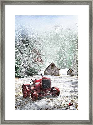 Country Christmas Framed Print