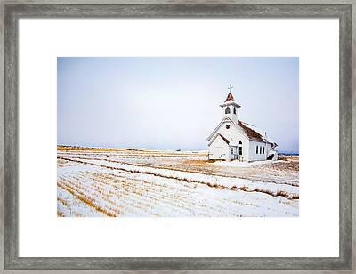 Country Church Framed Print by Todd Klassy
