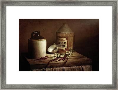 Country Cider Framed Print