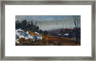 Country Color Framed Print