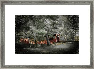 Country Crossing Framed Print by Marvin Spates