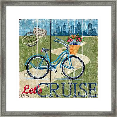 Country Cruisers I Framed Print by Paul Brent