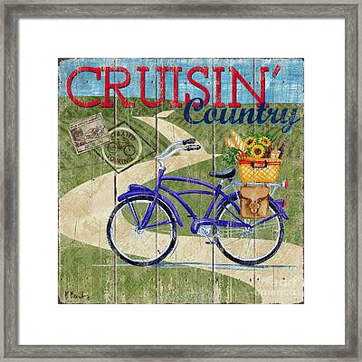 Country Cruisers II Framed Print by Paul Brent
