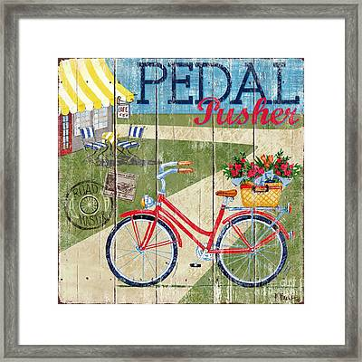 Country Cruisers IIi Framed Print by Paul Brent