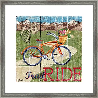 Country Cruisers Iv Framed Print by Paul Brent