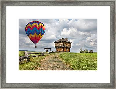 Country Cruising  Framed Print