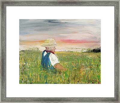 Country Dreams Framed Print