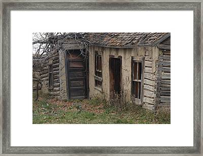 Country Drive Framed Print by Marj Beach