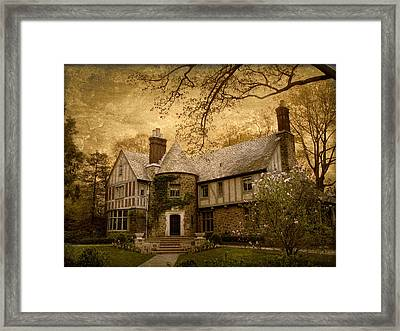 Country Estate Framed Print by Jessica Jenney