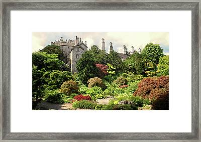 Country Estate Framed Print