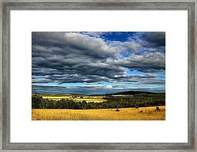 Framed Print featuring the photograph Country Farm by Gary Smith