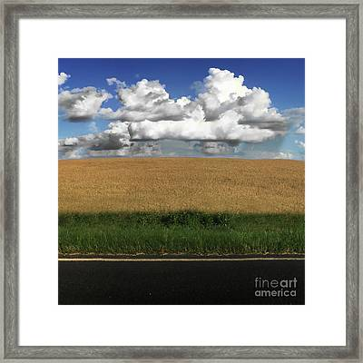 Country Field Framed Print