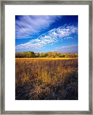 Country Fresh Framed Print