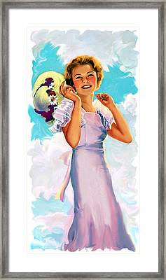 Country Girl Framed Print by Lash Larue