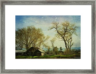 Country Home  Framed Print by Pamela Patch