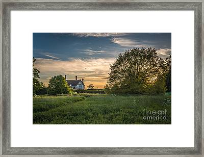 Country House Framed Print by Amanda Elwell