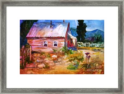 Country House Framed Print by Frances Marino