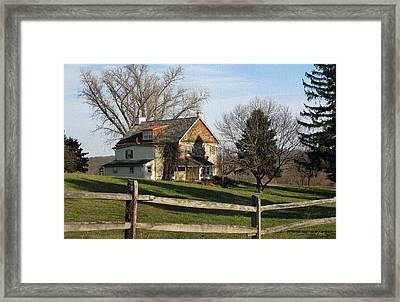 Country House Framed Print by Gordon Beck