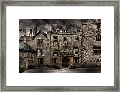Country House Framed Print by Martin Newman