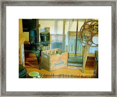 Framed Print featuring the painting Country Kitchen Sunshine II by RC deWinter