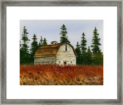 Framed Print featuring the painting Country Landscape by James Williamson