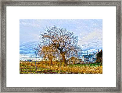 Country Life Artististic Rendering Framed Print by Clayton Bruster