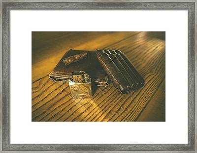 Country Life Framed Print by Cesare Bargiggia