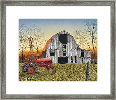 Country Life Framed Print by Don Engler
