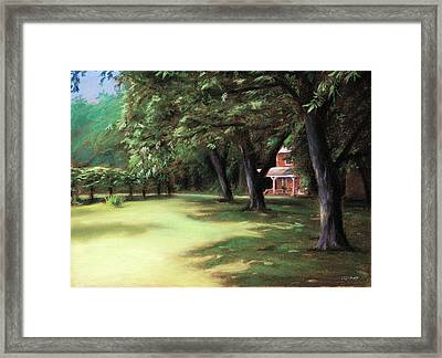 Country Livin Framed Print by Christopher Reid