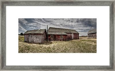Country Living Framed Print by Deborah Klubertanz