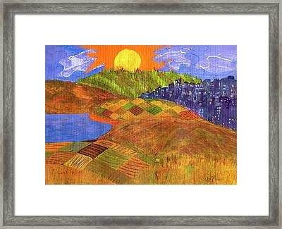 Country Living Framed Print by Sole Avaria